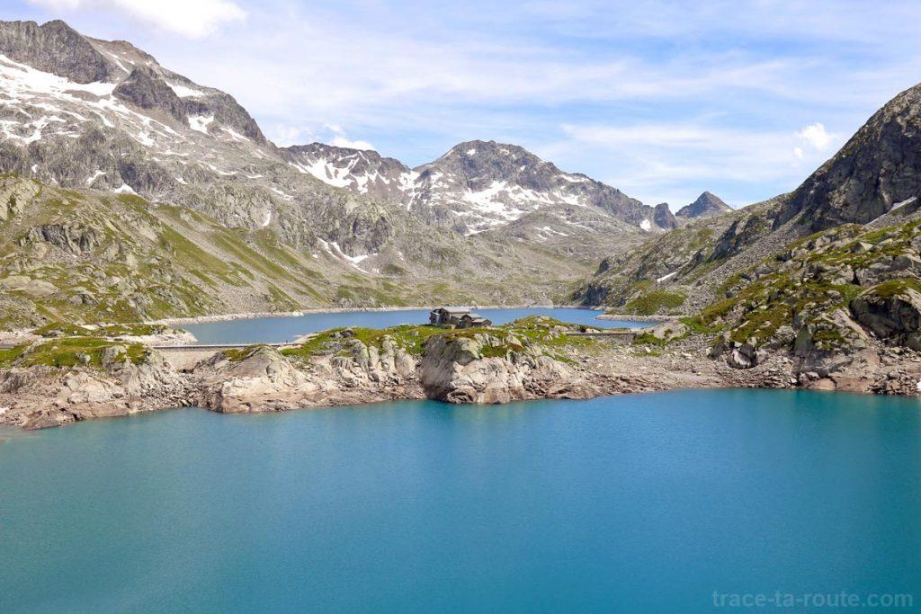 Le Lac Carré, le Refuge des 7 Laux et le Toit en Belledonne