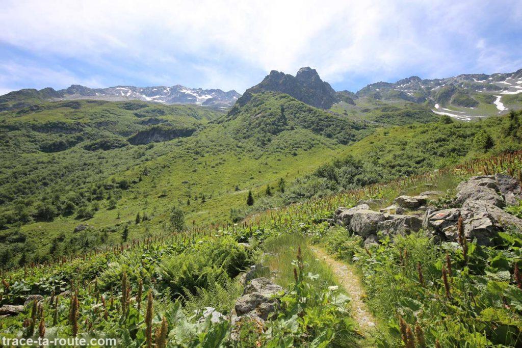 Sentier de randonnée des Lacs des 7 Laux (Belledonne)