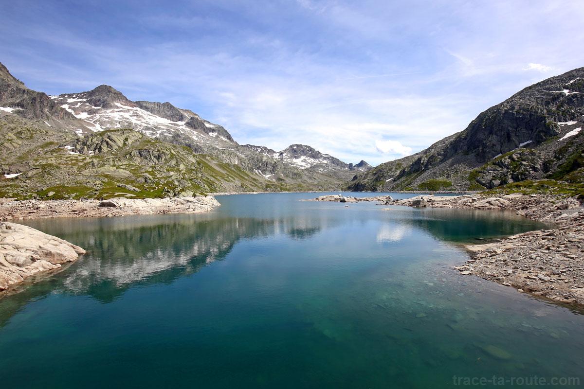 Le Lac Cottepens et la Pyramide - Lacs des 7 Laux Belledonne
