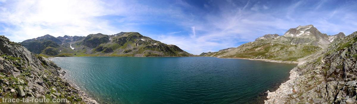 Le Lac du Coc et le Massif d'Allevard - Lacs des 7 Laux Belledonne