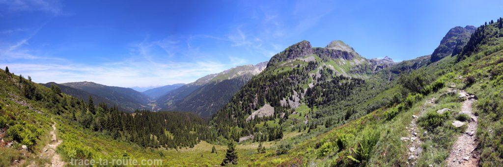 La vallée du Haut Bréda et le sentier de randonnée des Lacs des 7 Laux (Belledonne)