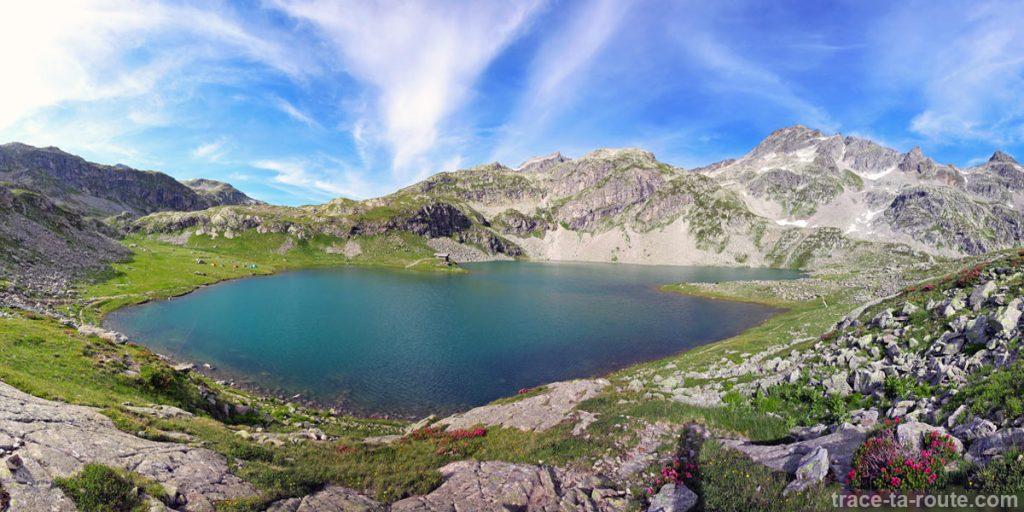 Le Lac de la Corne et le Pic des Eustaches - Lacs des 7 Laux Belledonne