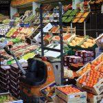 Étal à Mercabarna, marché de Barcelone