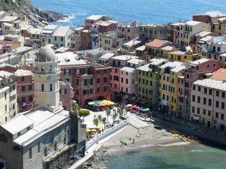 Vernazza dans les 5 Terre - Italie - blog voyages