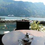 petit-déjeuner à Prčanj - blog voyages - Montenegro