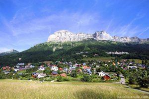 Saint-Hilaire-du-Touvet et la Dent de Crolles