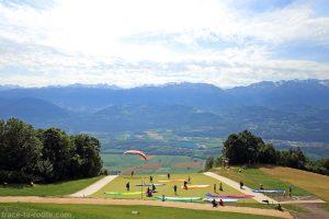 Spot de départs de vols de parapentes de Saint-Hilaire-du-Touvet
