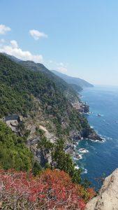 falaises des Cinque Terre depuis le sentier Azzurro