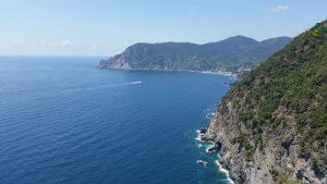 La méditerrannée depuis le sentier Azzurro, Cinque Terre, Italie