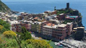 Vernazza depuis le sentier Azurro - blog voyages