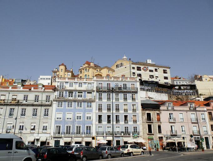 Azuleijos dans le quartier de l'Alfama, visiter Lisbonne Portugal Lisbon Lisboa