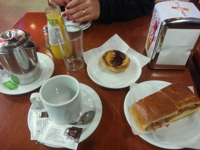 Petit déjeuner Lisbonne Portugal Lisbon Lisboa Breakfast food