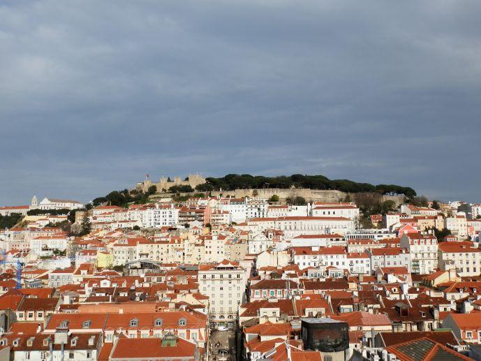 Château Castelo Sao Jorge Castle - visiter Lisbonne Portugal Lisbon Lisboa