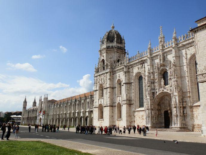 Monastère des Hieronymites Belem Lisbonne Portugal Lisbon Lisboa Mosteiro dos Jerónimos