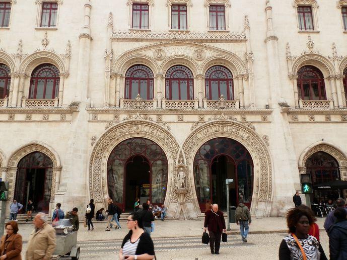 Gare de Rossio Lisbonne Portugal Lisbon Lisboa