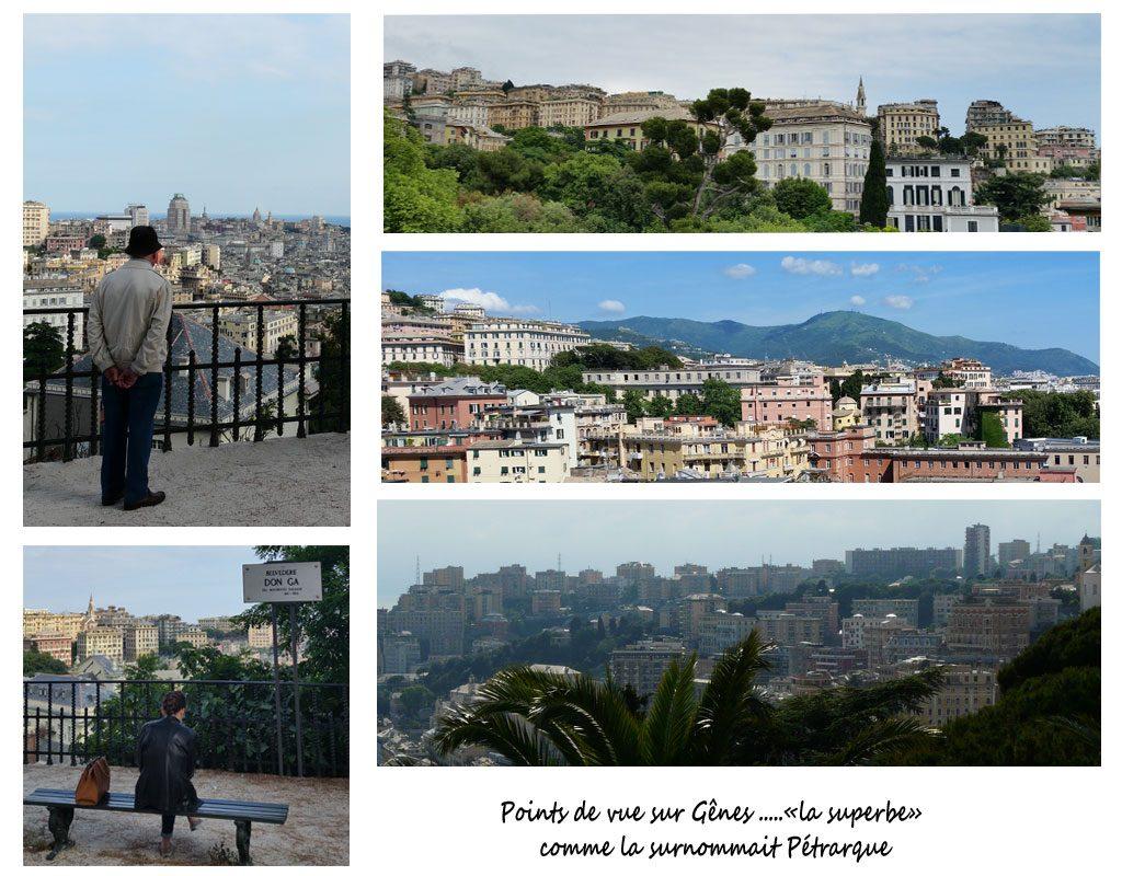 Panoramas sur Gênes