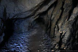 Tunnel Via Ferrata Roc du Vent Roselend