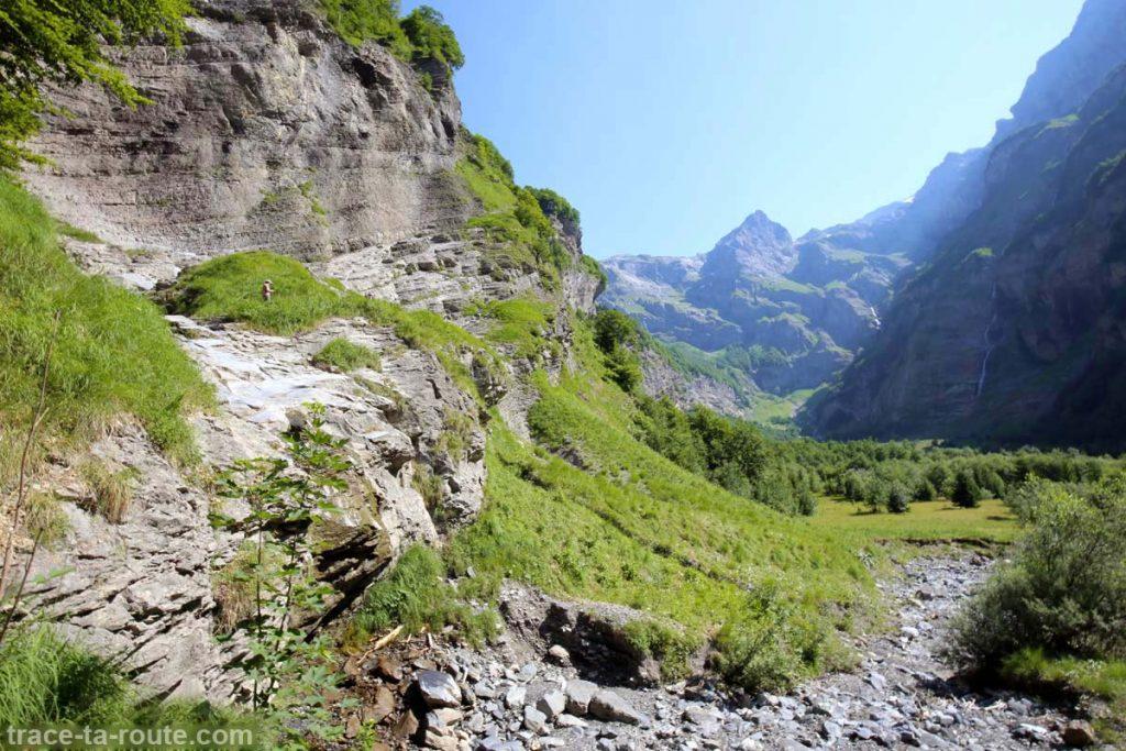 Le Pas du Boret et le Fond de la Combe du Fer-à-Cheval