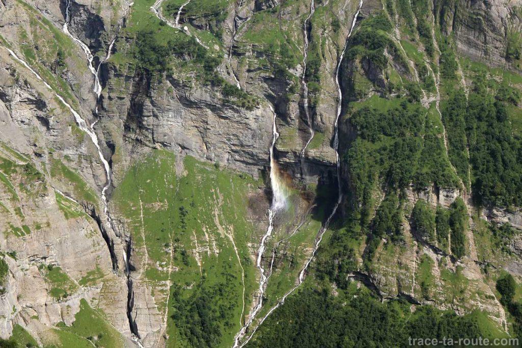 Cascades du Fond de la Combe de Fer-à-Cheval