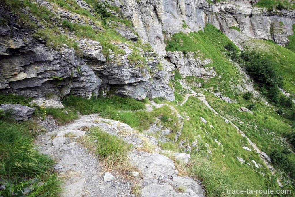 Retour du Refuge de la Vogealle par le Bout du Monde de Fer-à-Cheval