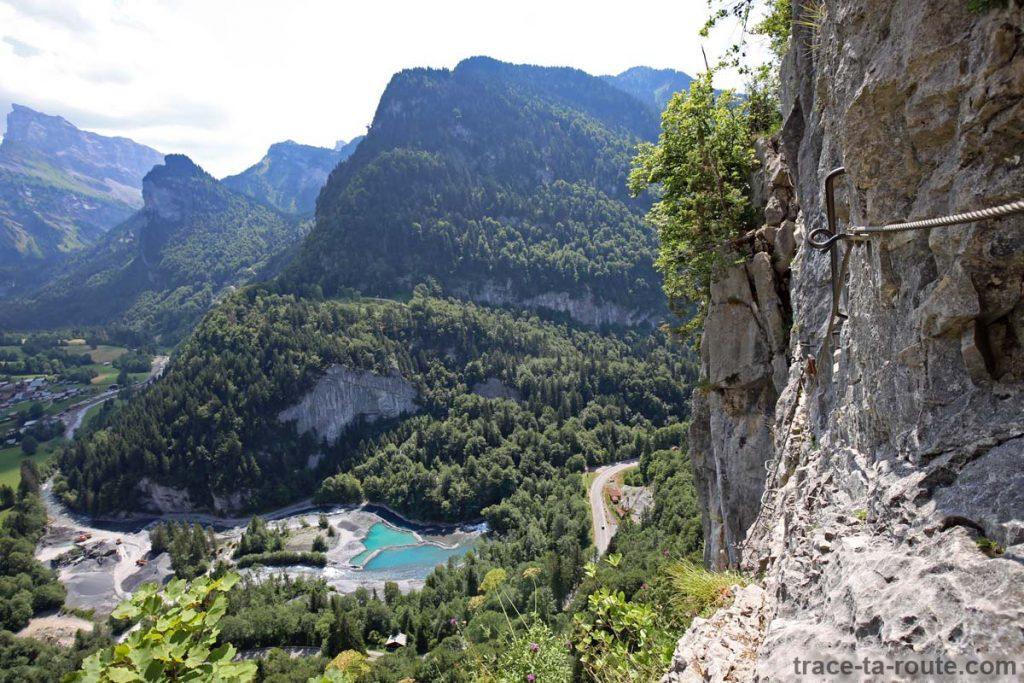 Via ferrata du Mont à Sixt-Fer-à-Cheval - La Becque