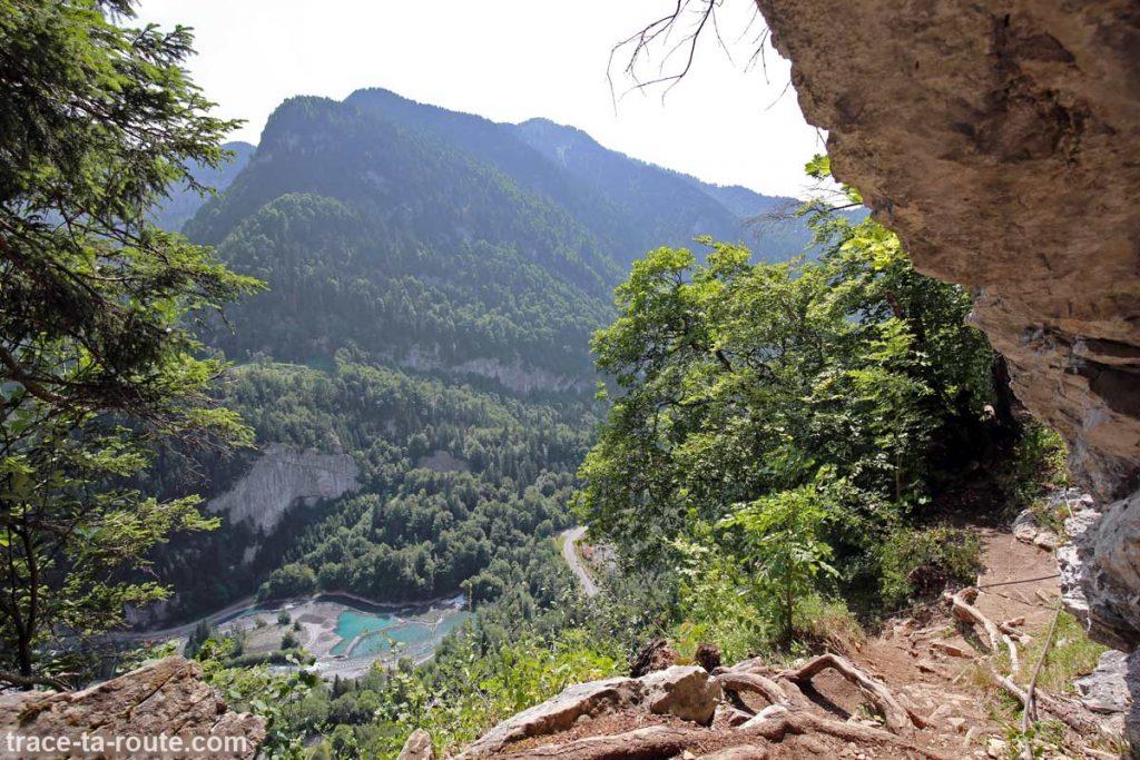 Via ferrata du Mont de Sixt-Fer-à-Cheval