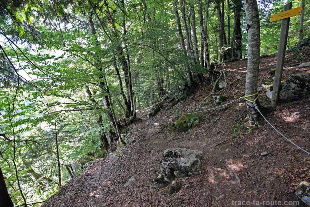 Sommet Via ferrata du Mont de Sixt-Fer-à-Cheval
