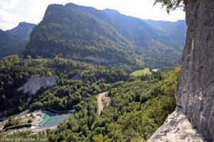 Via ferrata du Mont de Sixt-Fer-à-Cheval - Vire à Raffour