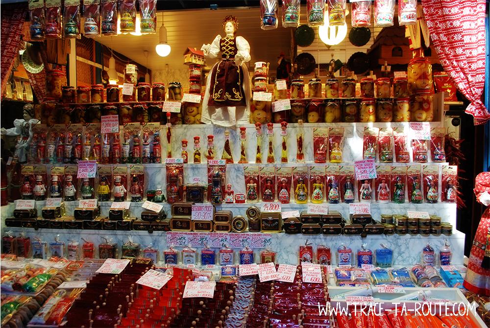 Paprika au Marché central de Budapest - Blog Voyage Trace Ta Route