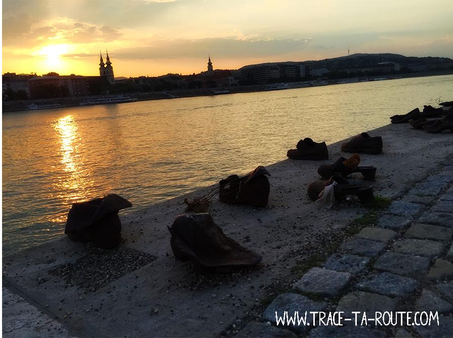Monument Budapest Chaussures sur le Danube