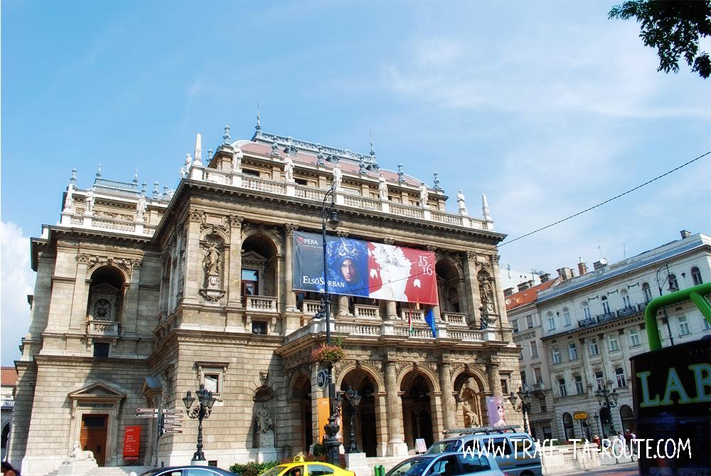 Opéra de Budapest - Blog Voyage Trace Ta Route
