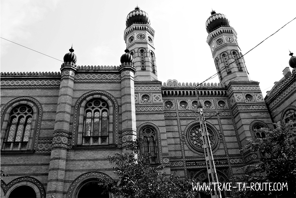 Synagogue dans le district VII à Budapest- Blog Voyage Trace Ta Route