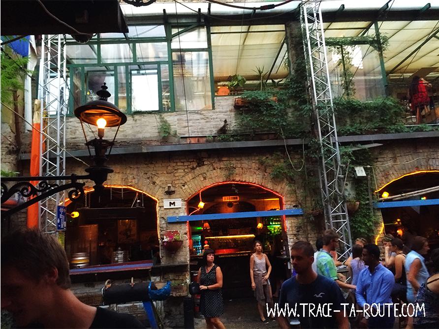 Szimpla un ruin bar de Budapest