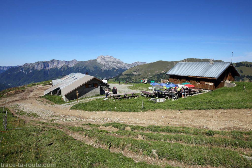 Le Vent des Cimes - Chalet de l'Aulp de Marlens, sous le Mont Charvin