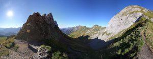 Vue depuis le Col des Porthets - Mont Charvin