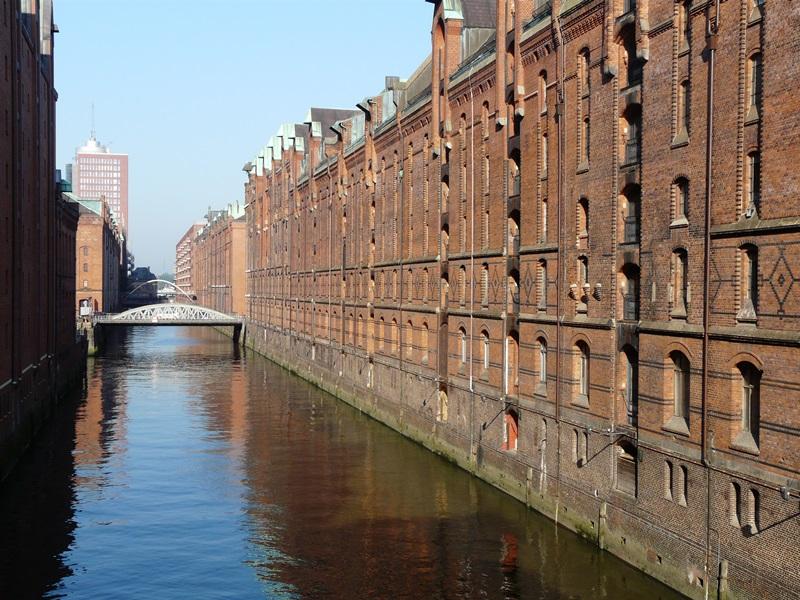 Entrepots Unesco Hambourg