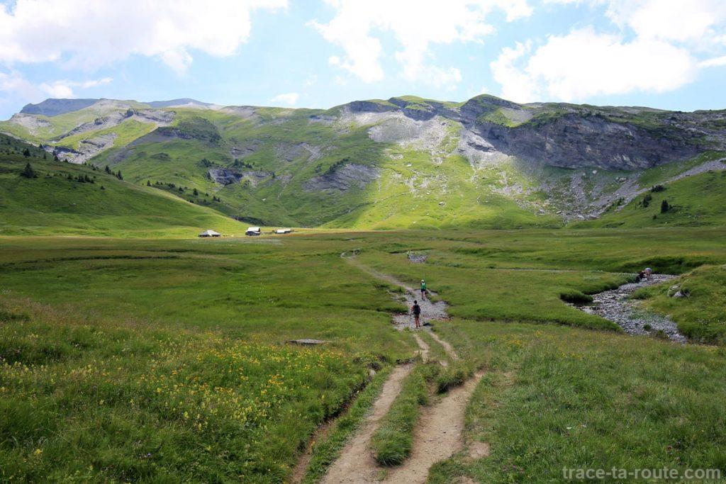 Le plateau du Refuge d'Anterne Alfred Wills
