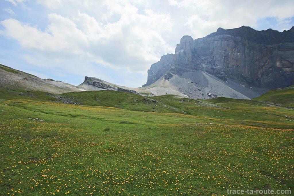 La Pointe d'Anterne et le Col d'Anterne