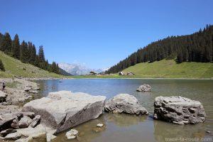 Le Lac de Gers et les Chalets de Gers