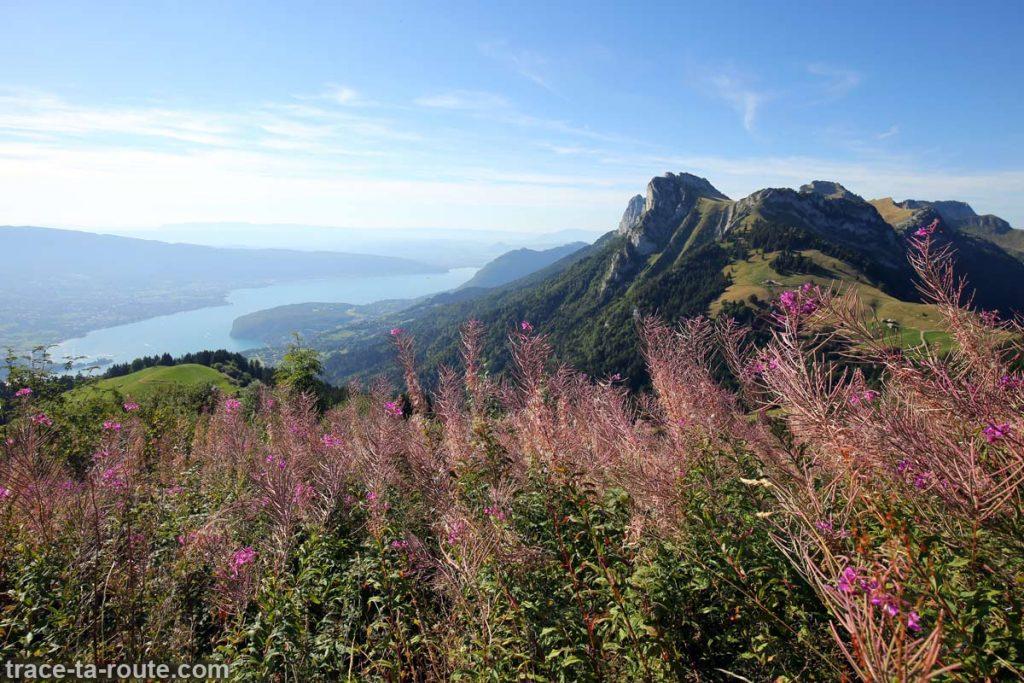 Le Lac d'Annecy et le Lanfonnet depuis La Tournette