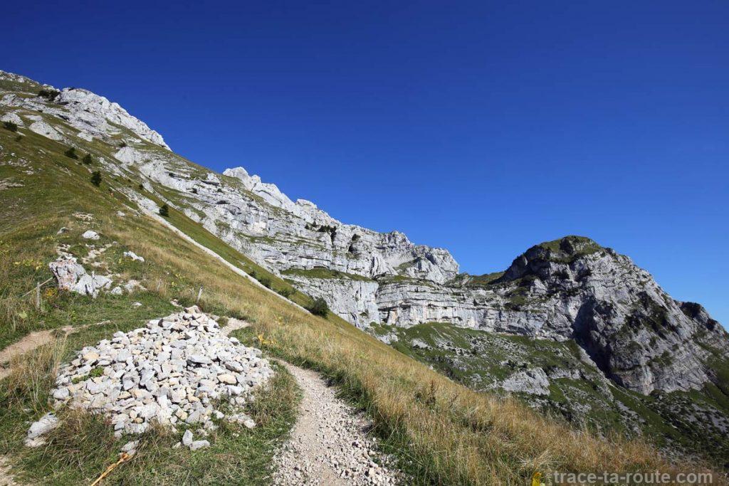 Sentier de randonnée de La Tournette