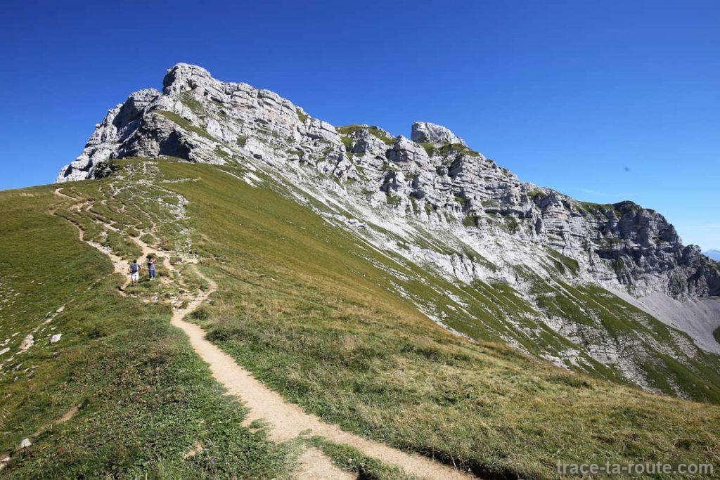 Barre rocheuse du sommet de La Tournette