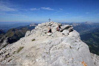 Le sommet de la Tournette