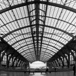 Verrière de la Gare d'Anvers - édouard photographie © Trace Ta Route
