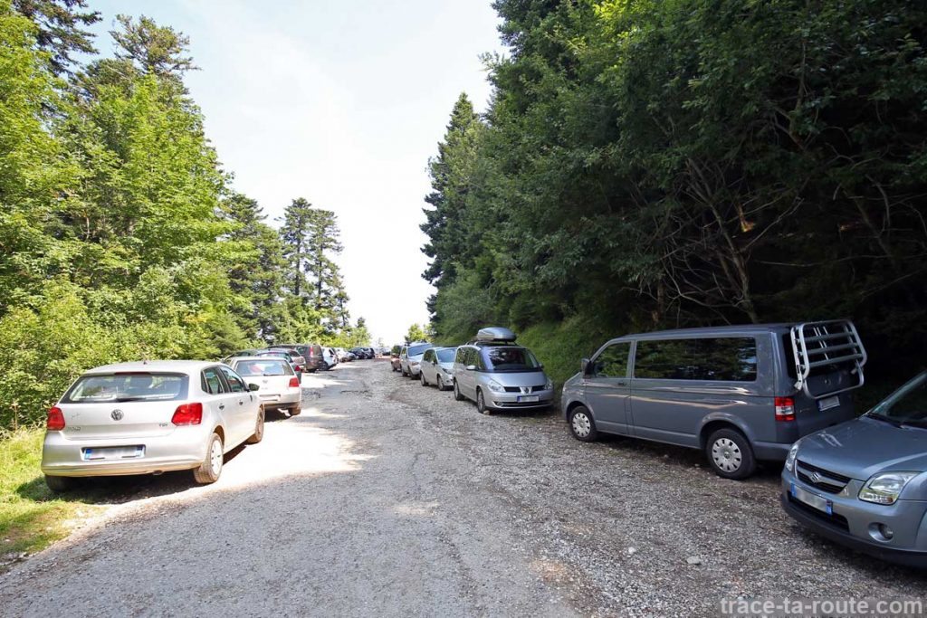 Parking Bois Brulé, Villaz - Parmelan