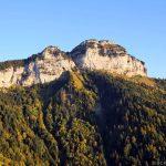 La Tête du Parmelan depuis Les Taillées du Sautet, Aviernoz