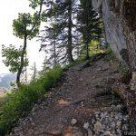 Sentier de randonnée au Parmelan par le Grand Montoir depuis le Bois Brulé, Villaz