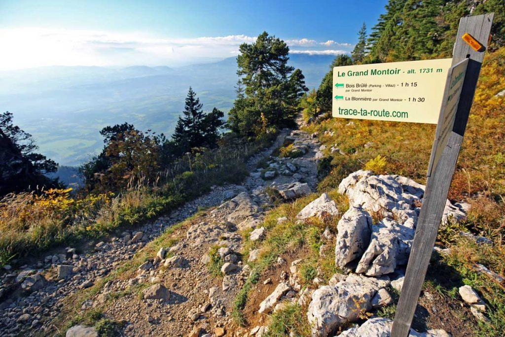 Le Grand Montoir randonnée Parmelan
