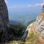 Le Grand Montoir Parmelan - sentier randonnée
