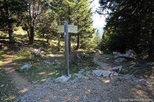 Le Crêt des Outalays - randonnée au Parmelan depuis le Chalet de l'Anglettaz - Aviernoz